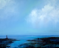 Distant Headlands by Barry Hilton -  sized 43x35 inches. Available from Whitewall Galleries